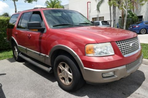 Pre-Owned 2003 Ford Expedition Eddie Bauer Rear Wheel Drive Sport Utility