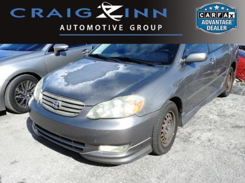 Pre-Owned 2004 Toyota Corolla S Front Wheel Drive Sedan