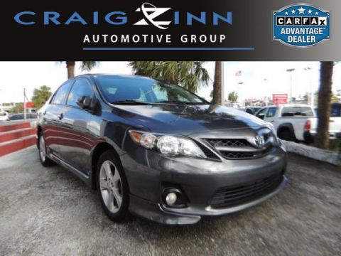 Pre-Owned 2012 Toyota Corolla LE Front Wheel Drive Sedan