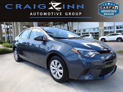 Pre-Owned 2015 Toyota Corolla LE Front Wheel Drive 4D Sedan