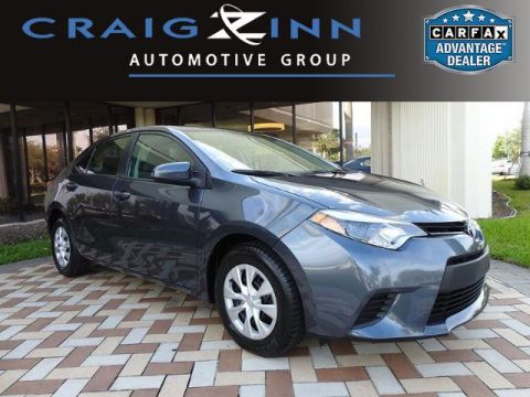 Pre-Owned 2015 Toyota Corolla LE Front Wheel Drive Sedan