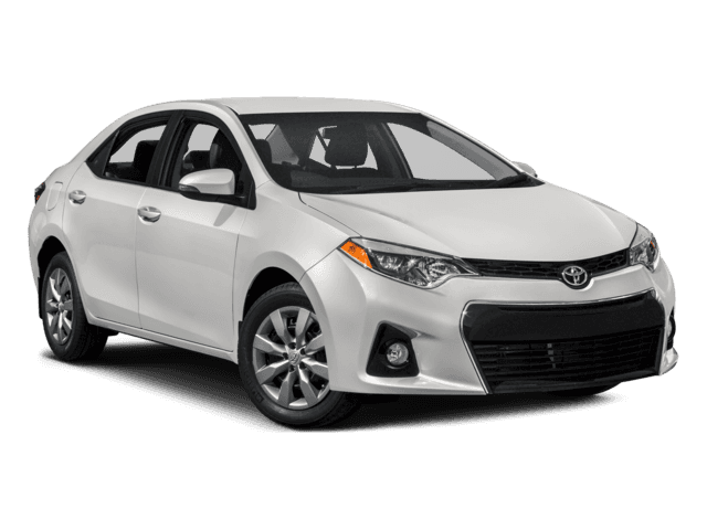 New 2016 Toyota Corolla S Plus Front Wheel Drive Sedan