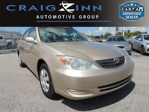 Pre-Owned 2002 Toyota Camry LE Front Wheel Drive Sedan