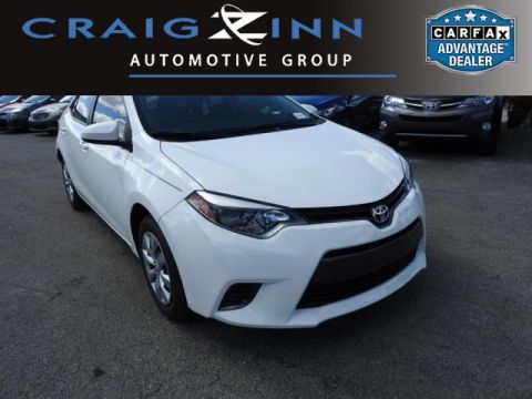Pre-Owned 2016 Toyota Corolla LE Front Wheel Drive Sedan