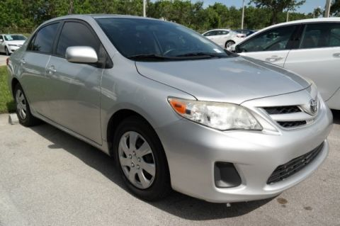 Pre-Owned 2011 Toyota Corolla LE Front Wheel Drive 4dr Car