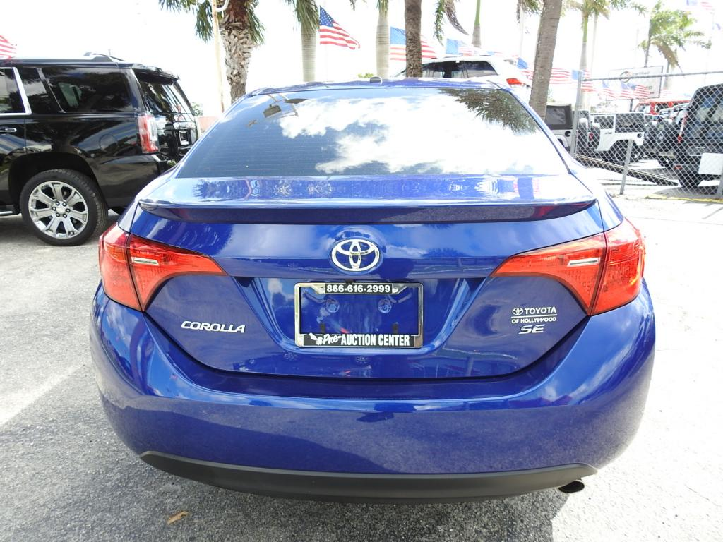 Pre Owned 2017 Toyota Corolla In Hollywood 9191401 Of