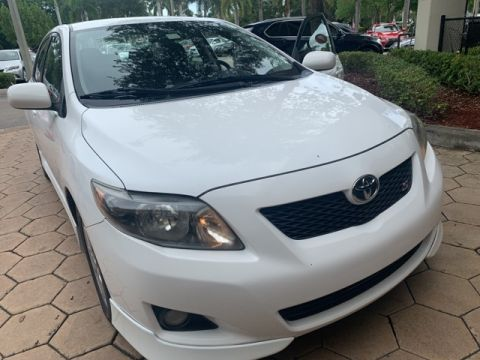 Pre-Owned 2010 Toyota Corolla S Front Wheel Drive