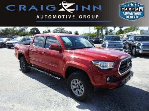 Pre-Owned 2018 Toyota Tacoma BLACK