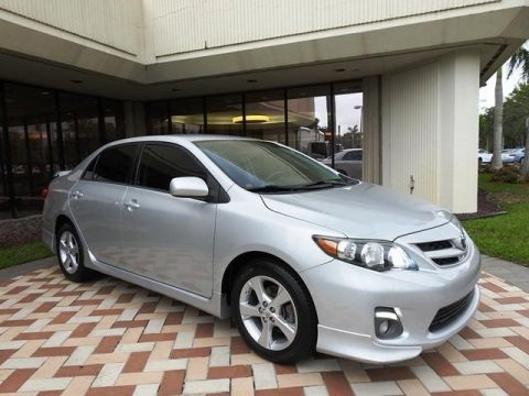 Pre-Owned 2013 Toyota Corolla S Front Wheel Drive