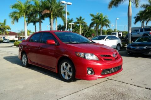 Pre-Owned 2012 Toyota Corolla S Front Wheel Drive