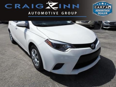 Pre-Owned 2016 Toyota Corolla